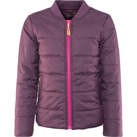 Meru Woodburn Padded Bomber Jacket Girls crushed violet